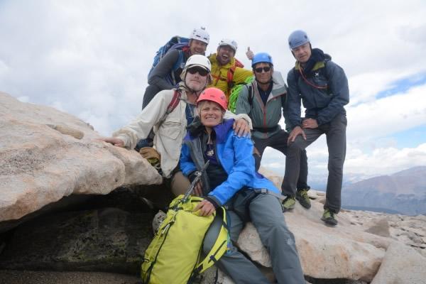 Rock climb Mt Whitney