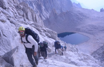Climbing Mt Whitney Mountaineer Route