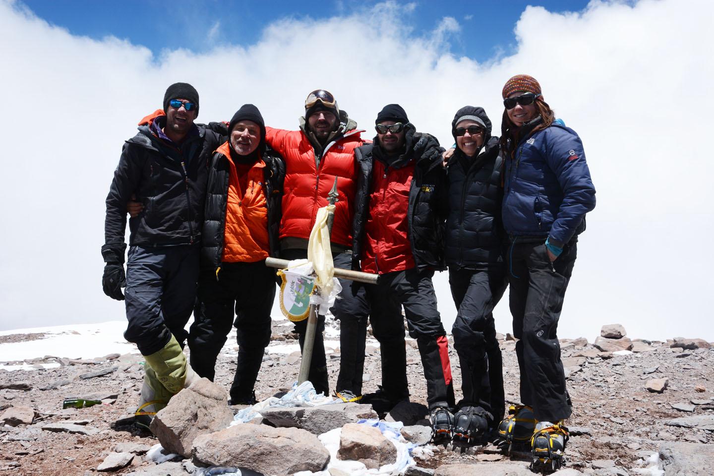 Aconcauga Summit Dec 15, 2013
