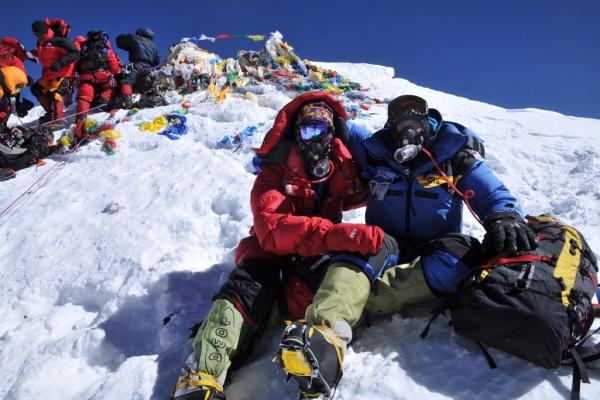 Everest Summit, Fred & Kurt May 19, 2012