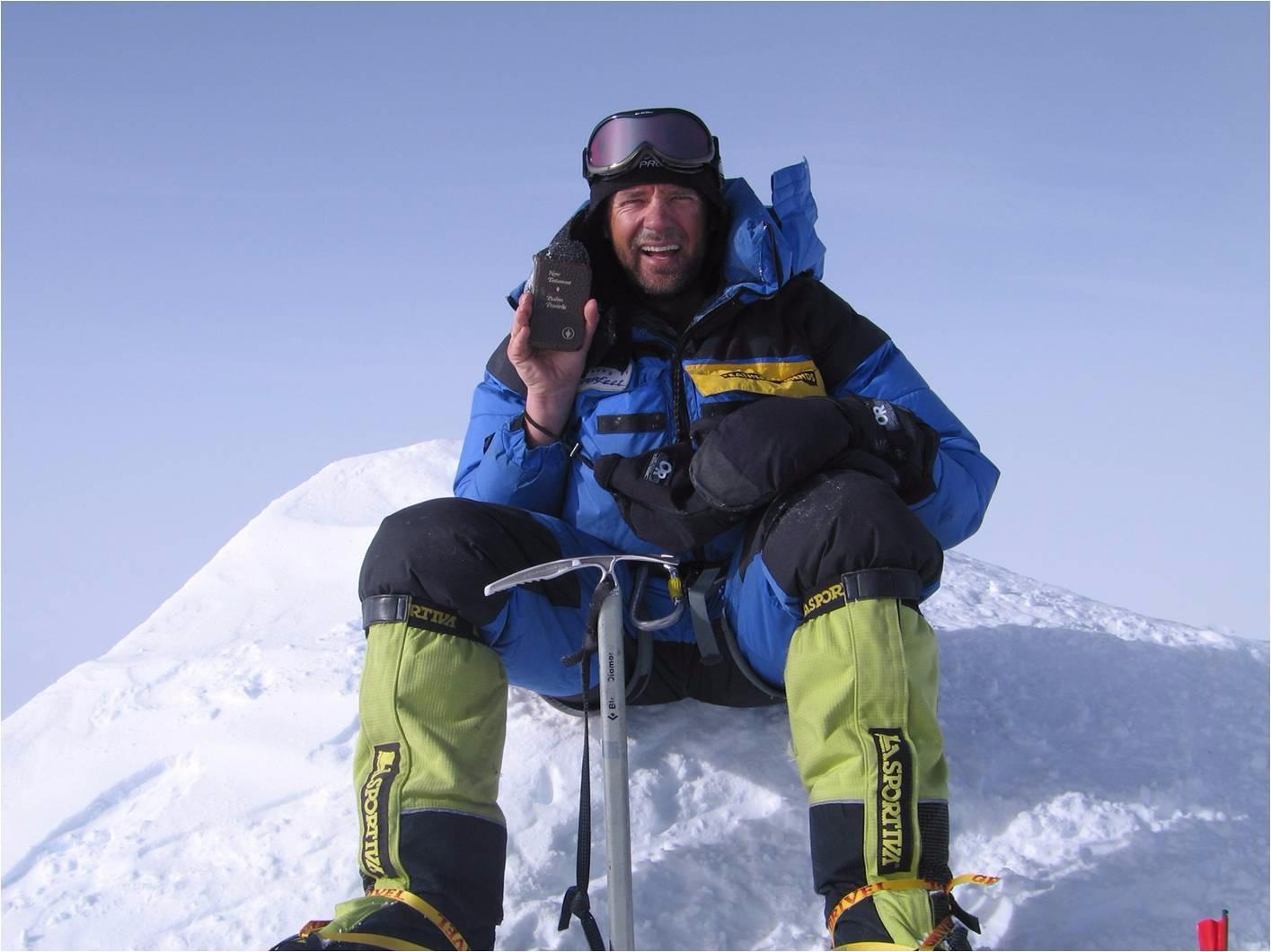 Kurt, Mt. Vinson Summit